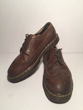 Dr. Doc Martens 3989/59 Men's Brown Leather Wingtip Shoes Size 9 UK/10 US  $130