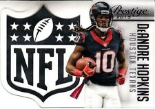 2015 Prestige NFL Shield #13 DeAndre Hopkins Texans