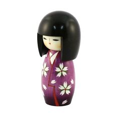 Japanese Creative Kokeshi doll OTOMESODE WHITE by Masayoshi Yamagishi