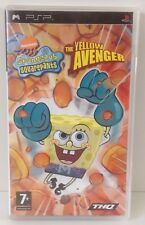 Sony PSP Spongebob Squarepants : The Yellow Avenger * CIB *  PSP region PAL 2