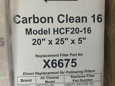 2 Pack - Lennox X6675 Carbon Clean Merv 16 Filters