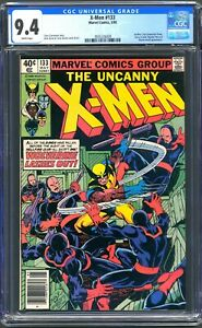 X-MEN #133 - CGC 9.4 - WP NM - 1ST SOLO WOLVERINE STORY -  NEWSSTAND