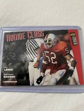 1996 Upper Deck Collectors Choice # 20 RAY LEWIS ROOKIE RC Baltimore Ravens