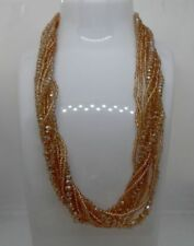 Handmade Diamond (Imitation) Beaded Costume Necklaces & Pendants