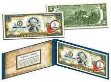 VIRGINIA Statehood $2 Two-Dollar Colorized U.S. Bill VA State *Legal Tender*