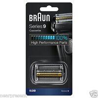 Braun Kombipack 92B Ersatz-Scherkopfkassette in schwarz für Series 9  ww shipm