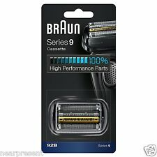 Braun combipack 92B Replacement Shaver Head Cassette in Black for Series 9 WW
