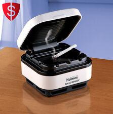 Smokeless Ashtray Portable Cigarette Smoke Grabber Home Auto Filter Air Purifier
