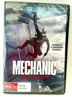 Mechanic Resurrection DVD 2016 Action Movie Jason Statham Factory Sealed New