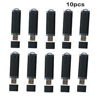 10 Pack 512MB//1GB//2GB LED Light USB Flash Drive Memory Stick White//Black Laptop