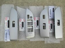 04 - 09 LEXUS RX330 RX350 SET OF ALL FOUR POWER WINDOW SWITCHES BEZEL BRAND NEW