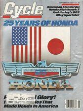 1985 September Cycle - Vintage Motorcycle Magazine
