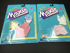 Maxie Doll Clothes on Card Lot of 2 So Cool Coordinates 1988 Hasbro