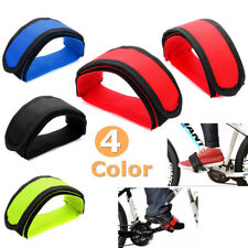 Pair Cycling Bicycle Bike Foot Pedal Straps Belt Fixed Anti-slip Fixie Toe Clip