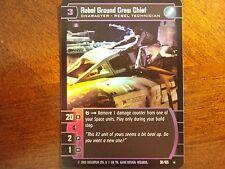 Star Wars TCG BOY Rebel Ground Crew Chief FOIL 30/105