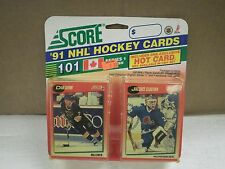 OLDER HOCKEY CARDS SCORE 1991- CANADIAN ENGLISH SERIES 1- DAN QUINN- NEW- L136