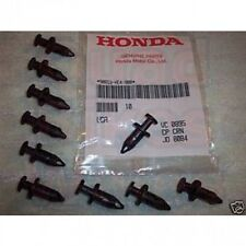 GENUINE HONDA ATV TRX MUDGUARD CLIP / SCRIVET / PUSH BUTTON TRIM CLIP (each)