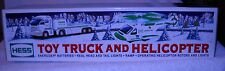#4400 NRFB Hess Gas Stations 2006 Toy Truck & Helicopter