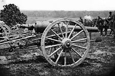 New 5x7 Civil War Photo: 1st New York Artillery Gun Cannon, Pettit's Battery