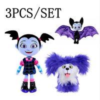 Junior Vampirina Wolfie Plush Doll Carton Toy Stuffed Kids Toy Gift Christmas
