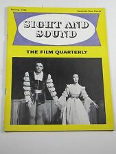 Sight and Sound Magazine-Richard Burton: Romeo Juliet; Spring 1955