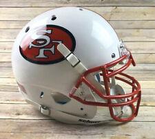 San Francisco 49ers Authentic Schutt Full Size Custom White Football Helmet
