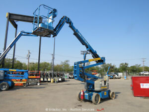 2014 Genie Z40/23N RJ 40' Electric Articulating Boom Lift Jib bidadoo -Repair