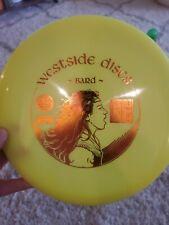 New Westside Discs Tournament Plastic Bard 175g Rare!