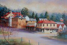 John Vander, Braidwood, Medium Size, Australian Country Landscape..