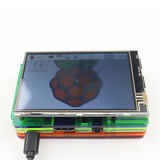 3.5 inch LCD Touch Screen Display Kit W/ Colorful Case for Raspberry Pi 2 3 sT