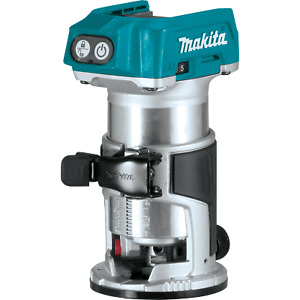 Makita XTR01Z-R 18V LXT Li‑Ion Brushless Compact Router, Tool Only