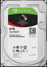 "Seagate IronWolf 6TB NAS 3.5"" Internal Hard Drive HDD SATA III 6Gb/s 128MB Cache"