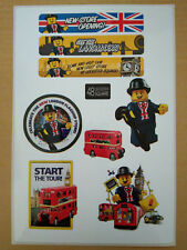 LEGO Sticker Aufkleber für London Bus Set 40220 Neu Limited