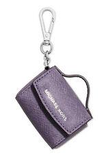NWT In Box $58 Michael Kors Ava Key Fob Bag Charm Coin Purse! Wisteria