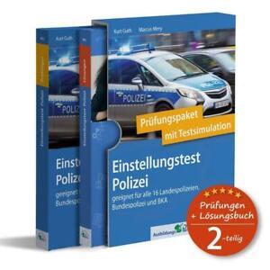 Kurt Guth Einstellungstest Polizei: Prüfungspaket mit Testsimulation