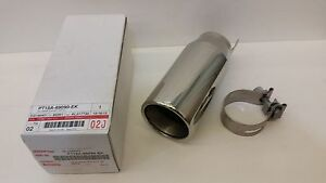 TOYOTA OEM FACTORY STAINLESS EXHAUST TIP 2008-2013 HIGHLANDER