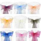 Chair Sashes Guaze Covers Ribbon Party Wedding Home Hotel Home Textile