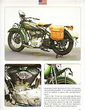 1935 Indian Chief Motorcycle Article - Must See !!