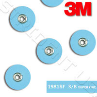 "3M SofLex Finishing and Contouring Disc 3/8"" SUPERFINE 85 Discs 1981SF"