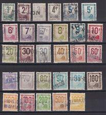 PETIT COLIS POSTAUX / N° 1/26 OBL COTE 153€