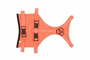 Mendota Products Skid Plate Dog Chest Protector Large Orange