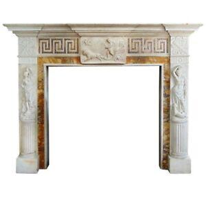 Marble Fireplace from Heiress Doris DukeEstate.