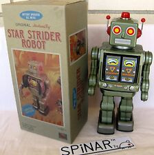 Original HORIKAWA STAR STRIDER Robot Tin Toy JAPAN, 1980s