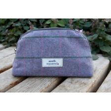 Earth Squared Iris Heritage Tweed Make Up Bag - BNWT - Was £13.99