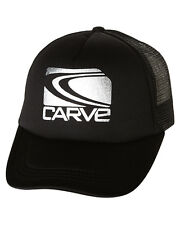 08e0d5f496927 CARVE THE BAY TRUCKER CAP IN BLACK FREE POSTAGE