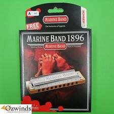 Hohner Marine Band Classic Harmonica  -  A Harmonic Minor