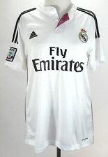 ADIDAS Jersey  Real Madrid Soccer Futbol White, Black/Pink JAMES #10 Adult M $90