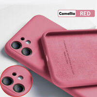 Silicone Full Protection Soft Case Cover For iPhone 11 Pro Max XS XR X 8 7 Plus