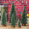 Mini Muiltisize Christmas Tree Stick White Cedar Desktop Small Decor