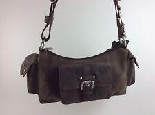 BEAR Design Handtasche Schultertasche HD4201 Echt Leder braun
